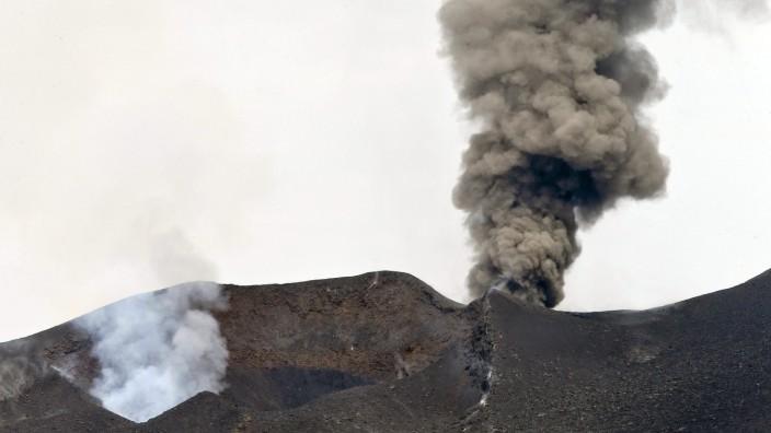 Volcano at Fogo Island