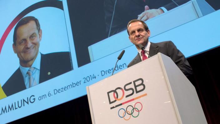DOSB Hörmann Mitgliederversammlung des Deutschen Olympischen Sportbundes