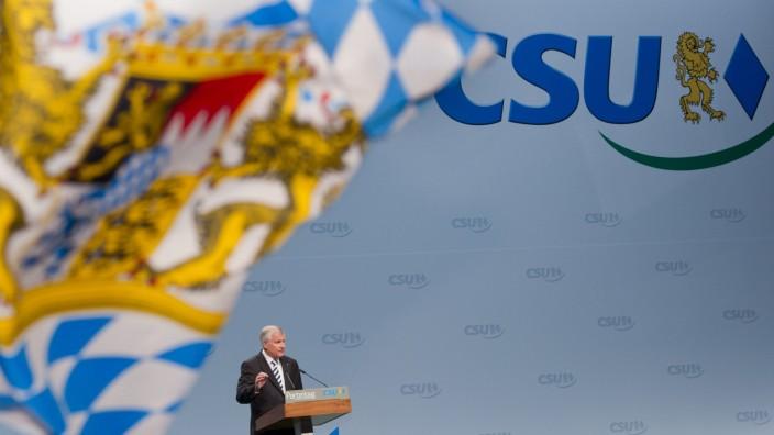 CSU-Parteitag - Horst Seehofer