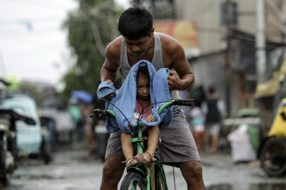 Former typhoon moving out of Philippines, at least 28 dead
