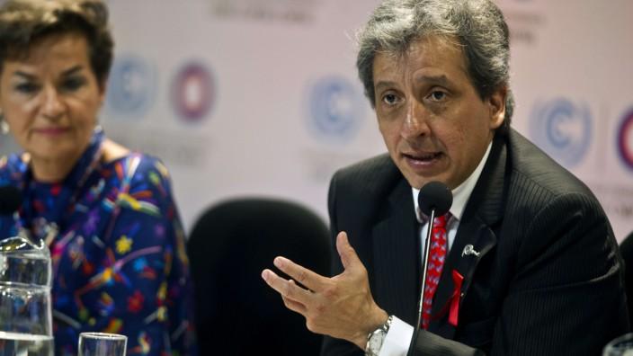 UN-Klimakonferenz in Lima: Manuel Pulgar-Vidal ist Perus Umweltminister und Spezialist für ökologische Rechtsfragen.