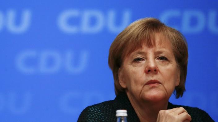 Angela Merkel CDU Parteitag Köln