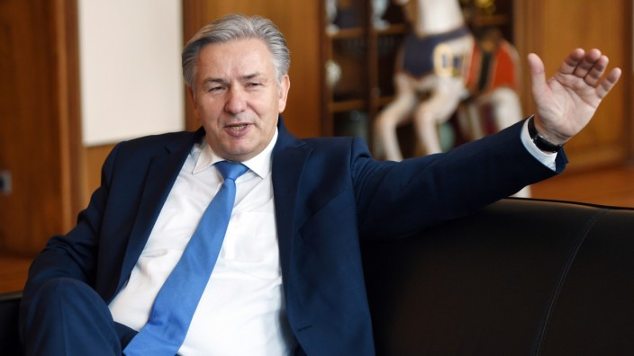 Berlins Regierender Bürgermeister Klaus Wowereit