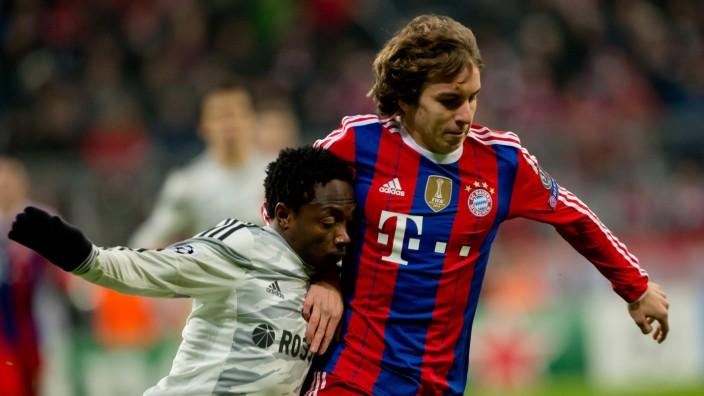 Bayern München - ZSKA Moskau Champions League Gianluca Gaudino