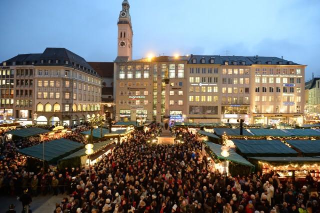 Eröffnung Münchner Christkindlmarkt