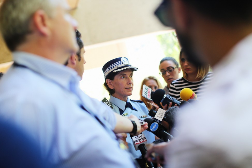 NSW Police Hold A Press Conference In Relation To Sydney Hostage Incident