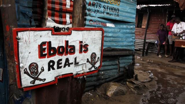 Jahresrückblick 2014 - Ebola-Ausbruch in Westafrika
