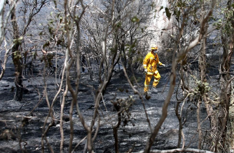 Bushfires in Victoria