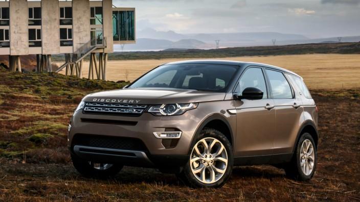 Land Rover legt mit Discovery Sport Grundstein für neue Submarke