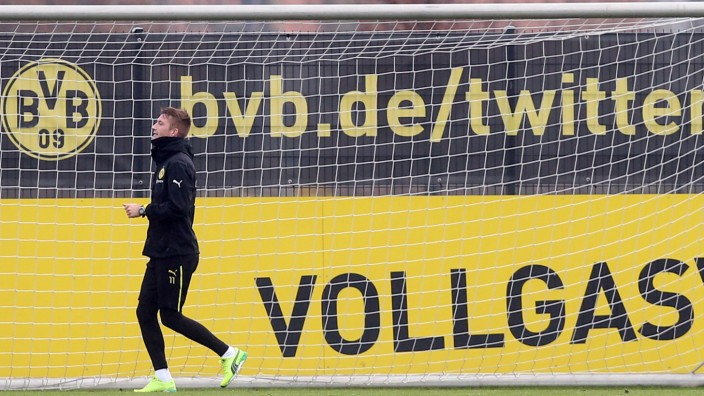 Training Borussia Dortmund - Marco Reus