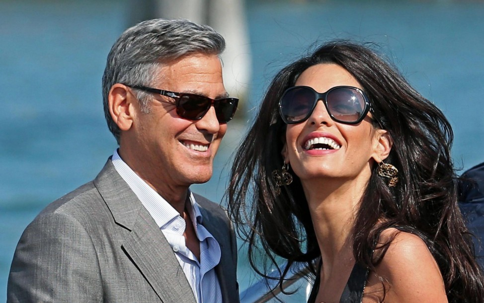 George Clooney and Amal Alamuddin Wedding