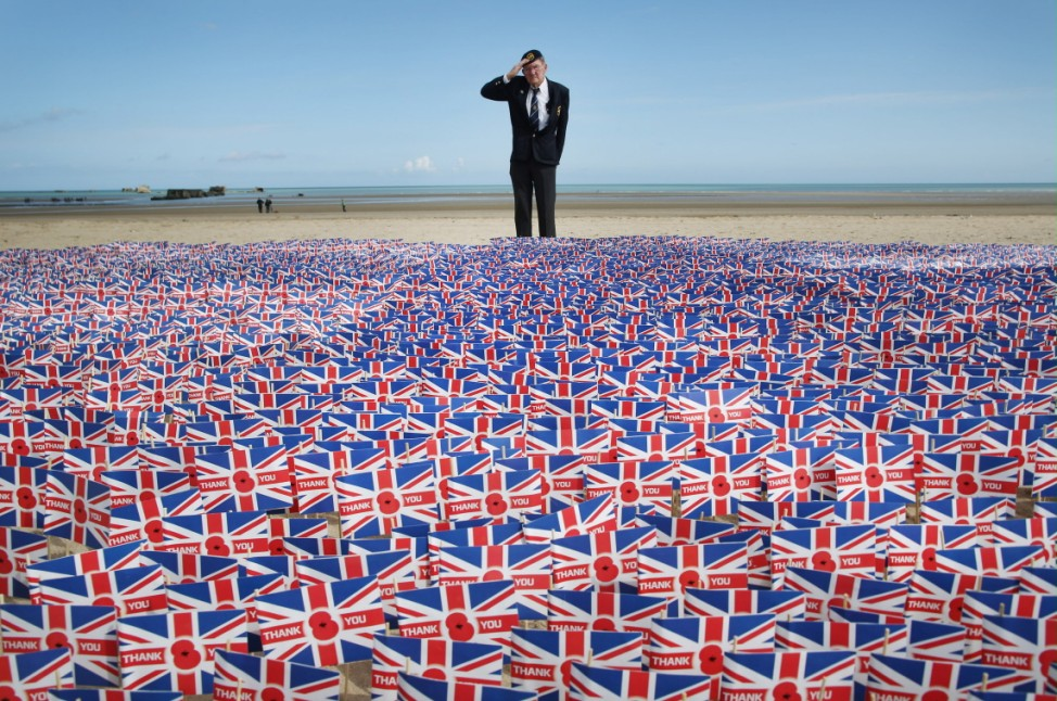 IMAGES OF THE YEAR 2014 - NEWS - The 70th Anniversary Of The D-Day Landings Are Commemorated In Normandy
