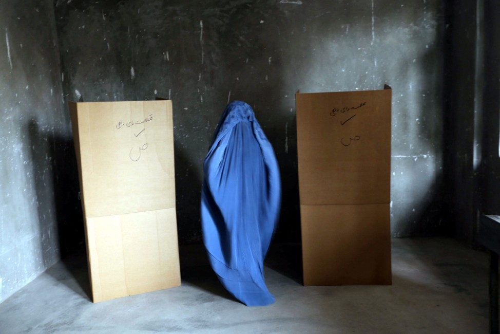 Afghan presidential elections run-off