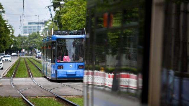 Trambahn, Trambahnen Dachauer Straße