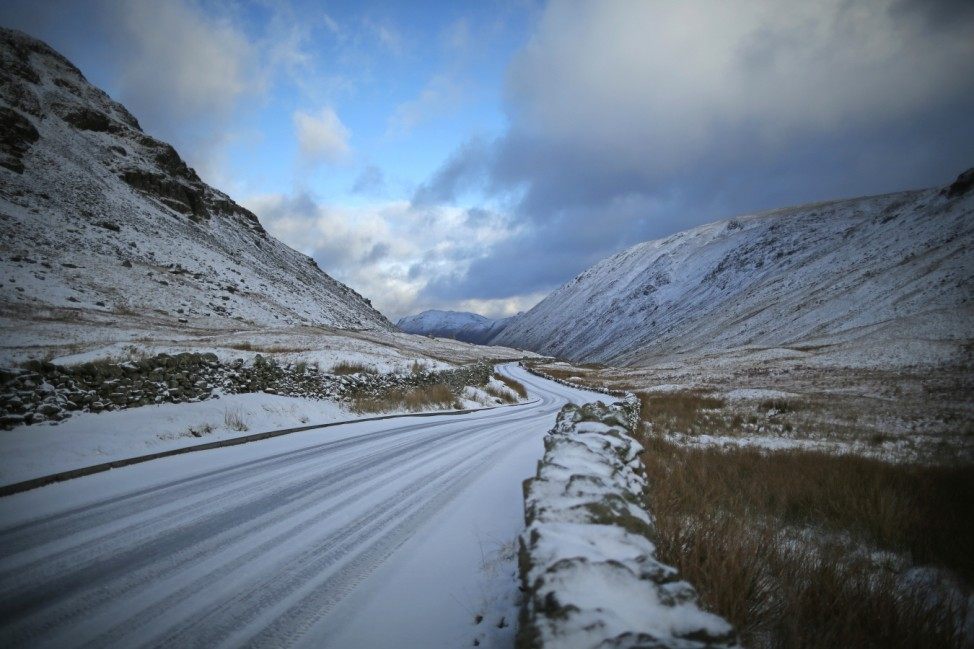 Snow And Ice Warnings As Cold Weather Front Approaches