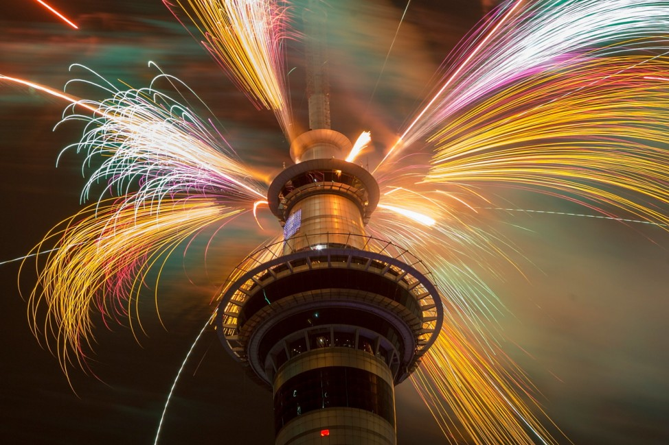 New Years Eve Fireworks In New Zealand