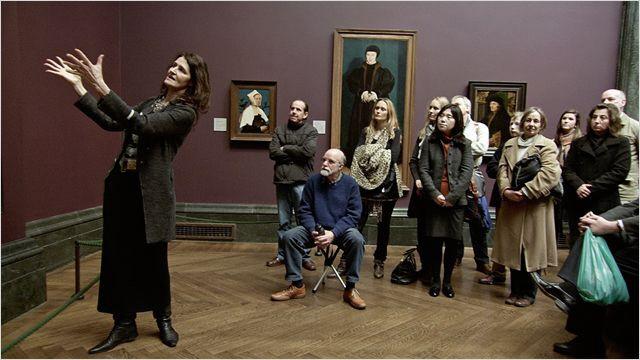 """Museumsführer in """"National Gallery"""", der Doku von Frederick Wiseman."""