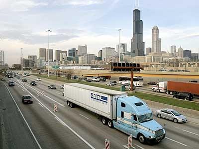 Skyline von Chicago, AP