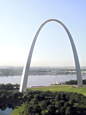 St. Louis Arch, dpa