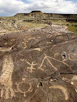 Steinzeitrelikte nahe Albuquerque, AP