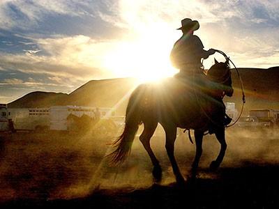 Rodeo in Barstow (Kalifornien), AP