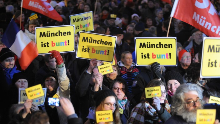 Anti Bagida Demonstration in München, 2015