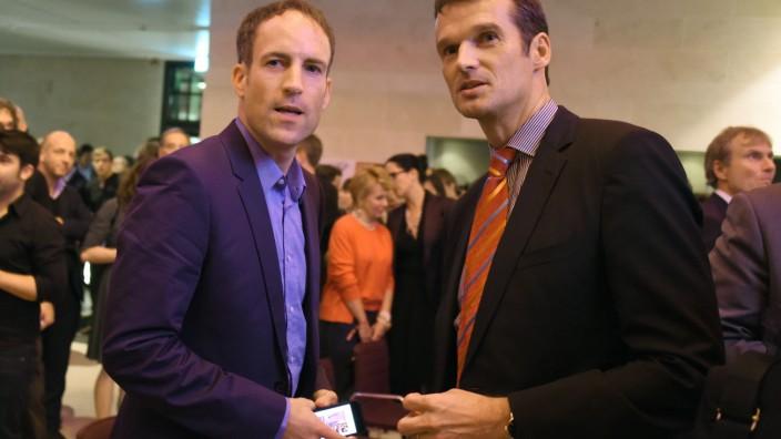 Führungsduo bei 'Der Spiegel' - Klaus Brinkbäumer (rechts) und Florian Harms