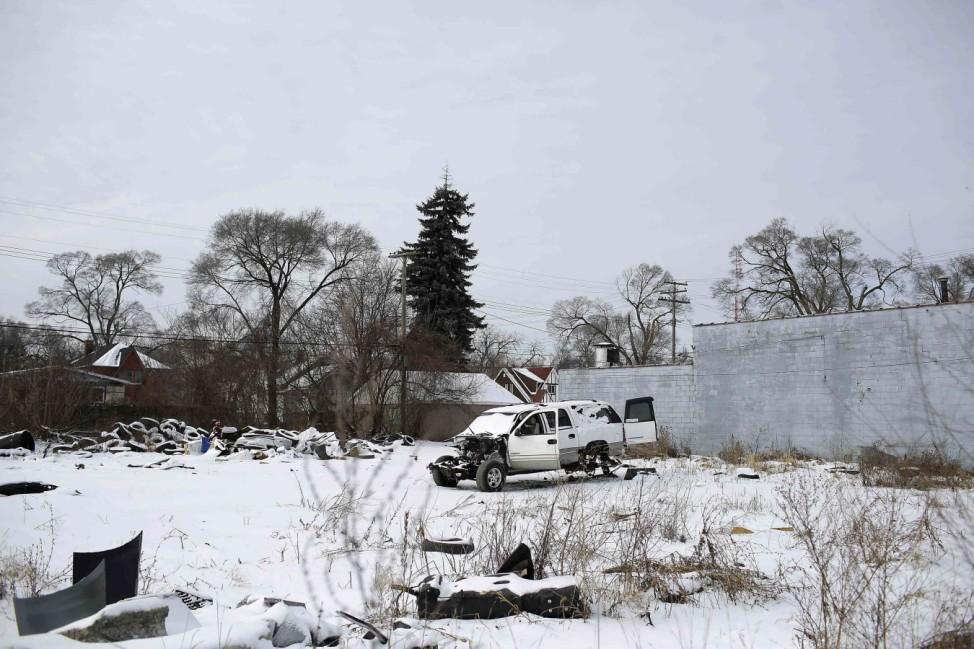 Chevrolet Suburban 1500, abgestellt in Detroit