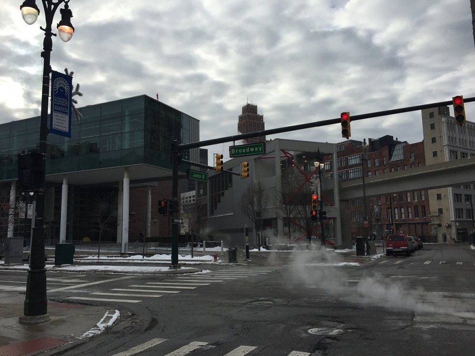 Detroits leere Straßen