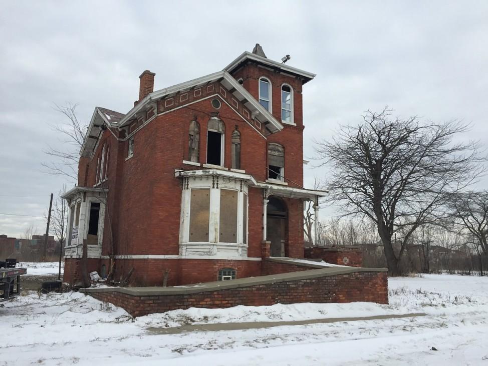 Alleinstehendes Haus in Detroit
