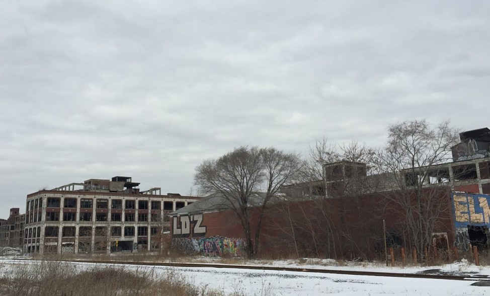 Verlassene Gebäude in Detroit