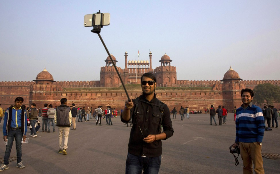Selfie in Indien