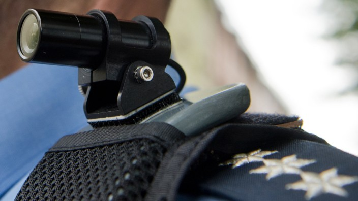 Minikameras für Streifenpolizisten