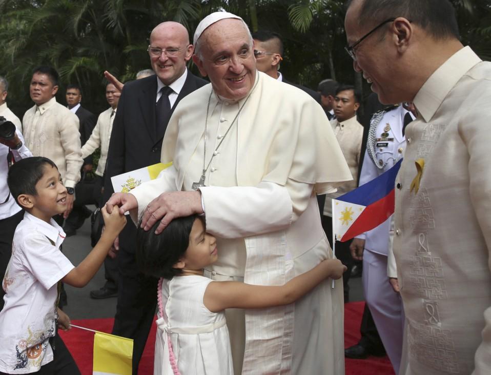 Pope Francis, Benigno Aquino III
