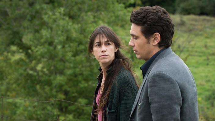 """Charlotte Gainsbourg und James Franco in einer Szene von """"Everything will be fine""""."""