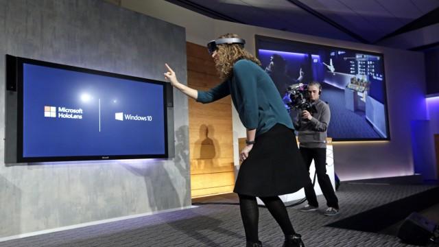 Microsoft: Microsoft-Managerin Lorraine Bardeen sieht etwas, was wir nicht sehen.