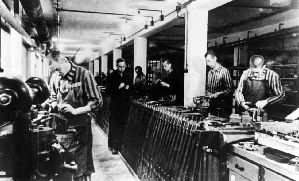 Sklavenarbeit im KZ Dachau