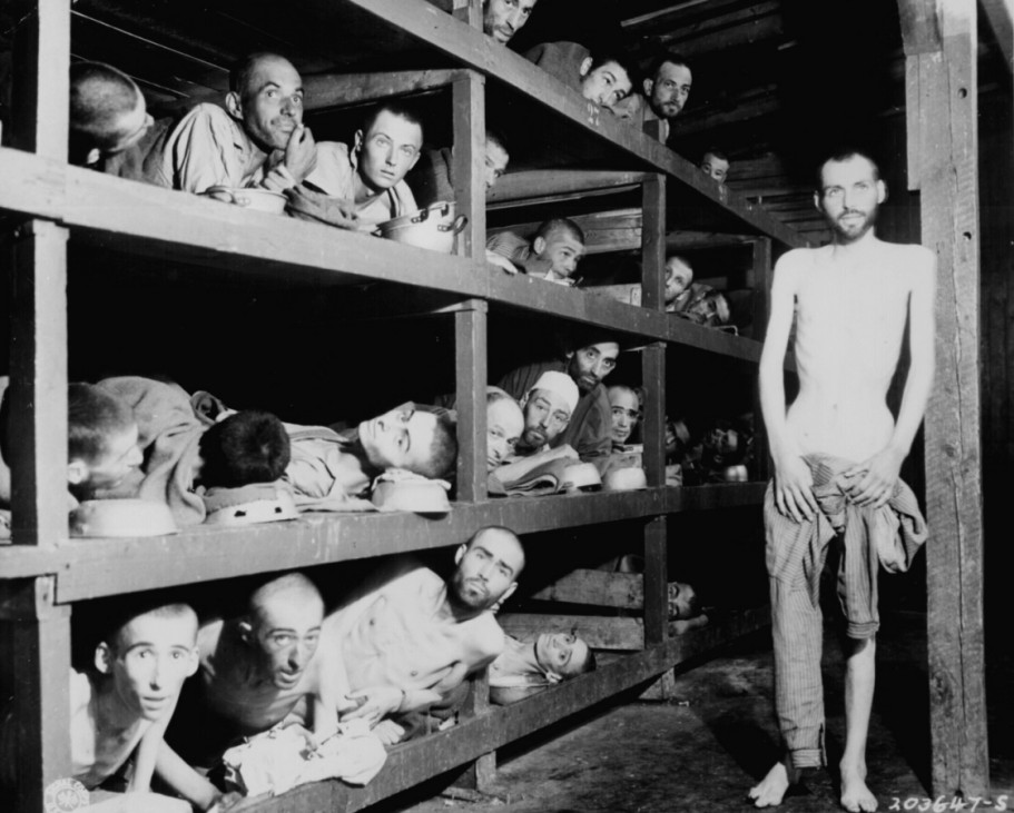 Obama-Besuch - Elie Wiesel im KZ Buchenwald