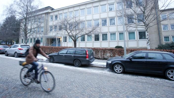 Ehemaliges Kreiswehrersatzamt an den Sophienterrassen