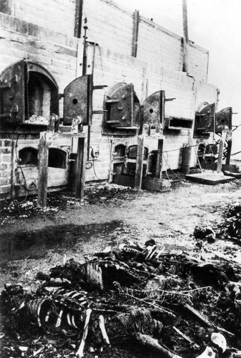 Verbrennungsöfen im KZ Majdanek