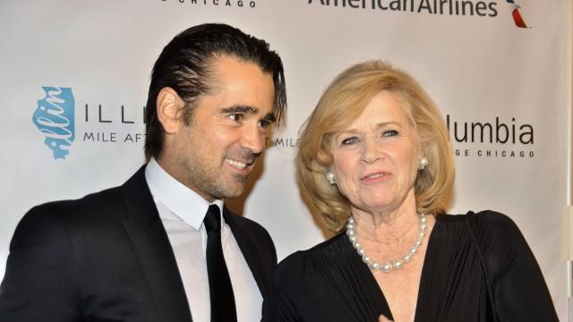 """Colin Farrell und Liv Ullmann bei der Premiere von """"Miss Julie"""" in Chicago im Oktober 2014."""