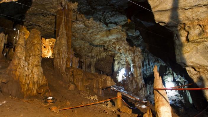 Evolution: 80 Meter lang, 30 Meter breit: Die Höhle in Manot.