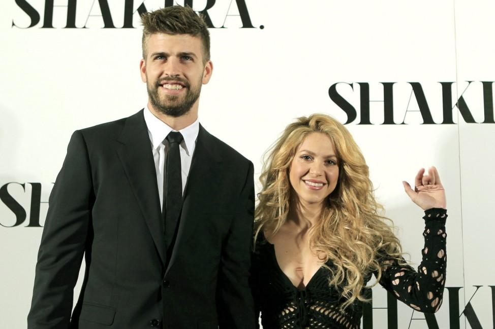 Shakira und Pique erwarten zweites Kind
