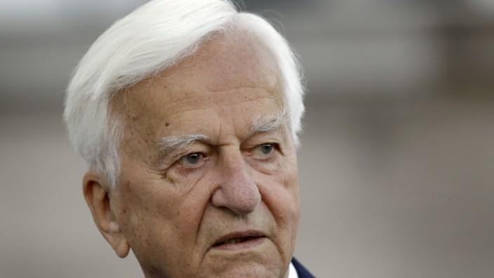 Richard von Weizsäcker in der SZ: Der frühere Bundespräsident Richard von Weizsäcker.