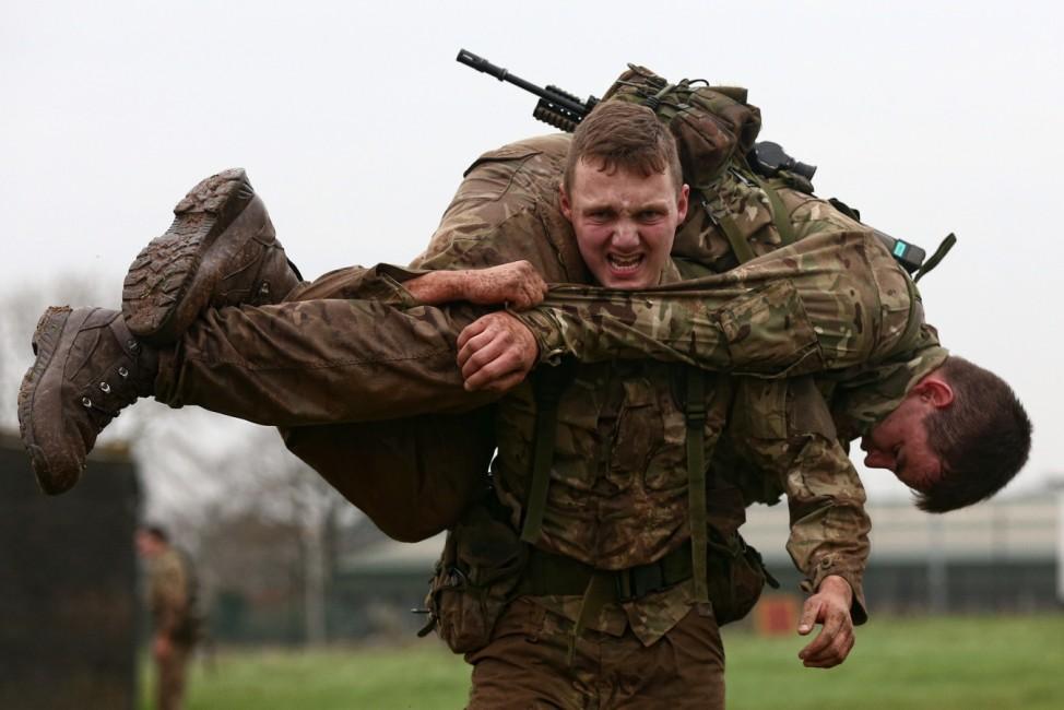 350th Anniversary Of The Royal Marines