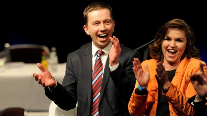 Bern Lucke beim AfD Bundesparteitag in Bremen