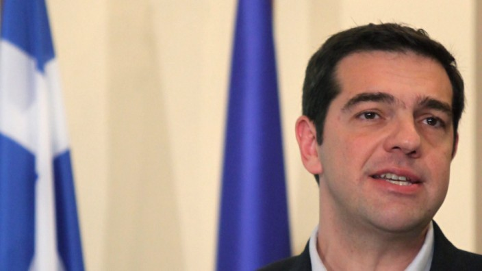 Greek Prime Minister Alexis Tsipras visits Cyprus