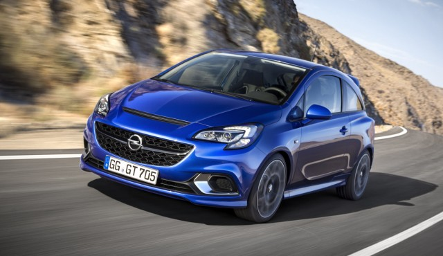 Der neue Opel Corsa OPC.