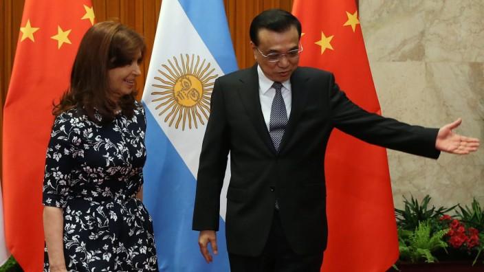 Argentinian President Fernandez de Kirchner on China visit