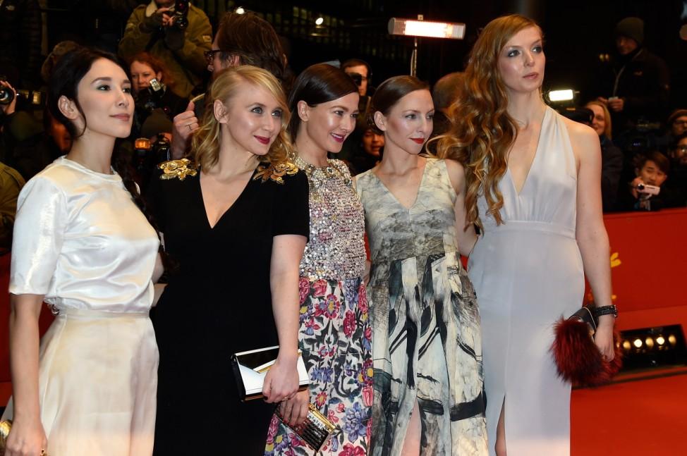'Nobody Wants the Night' Premiere - 65th Berlinale International Film Festival